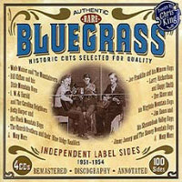 V/A: Authentic & Rare Bluegrass – Independent Label Sides 1951–1954 (4CD)